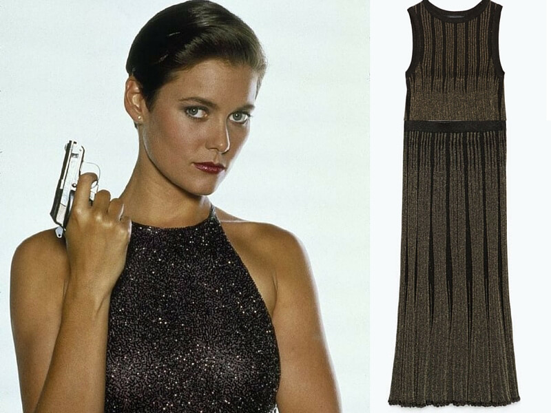 Outfit da Bond Girl Licence to kill