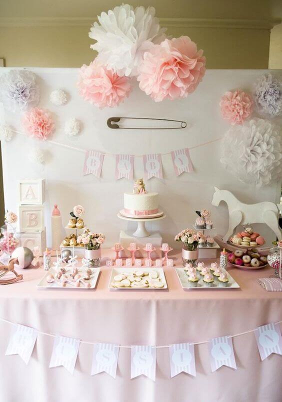 baby shower party decoration